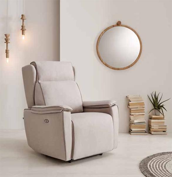 Sofas, chaise longue, sofas con motor. Nuevo catálogo 2019