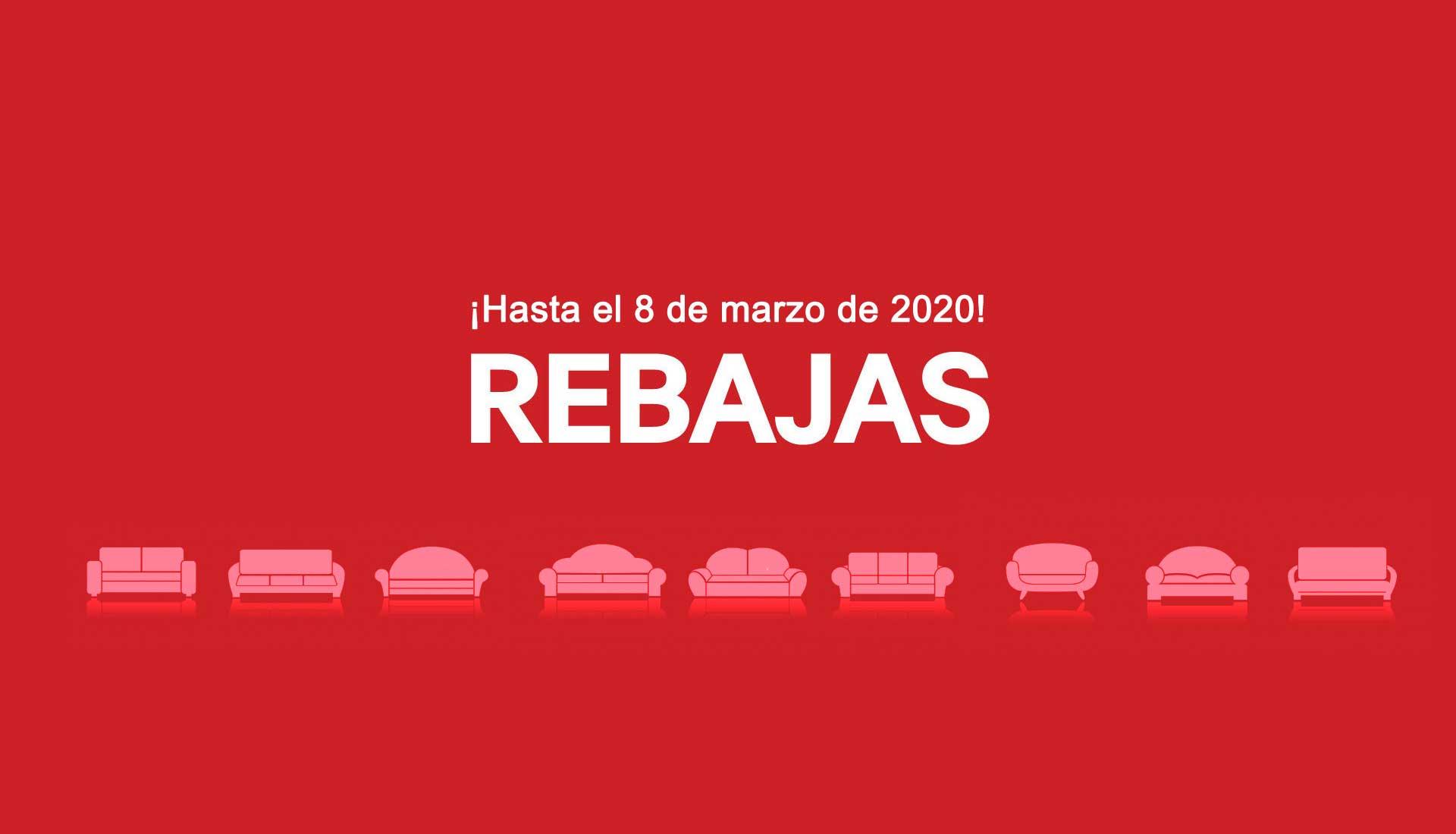 Rebajas en sofás sillones colchones en Madrid