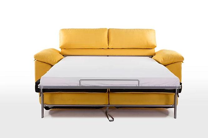 Sofá cama Carla (abierto)
