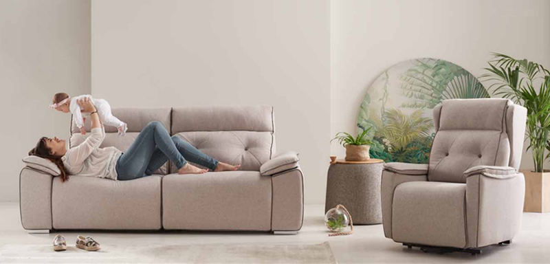 Sillones, sofás, chaise longues
