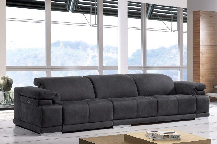 Sofá de piel - Modelo Abascal