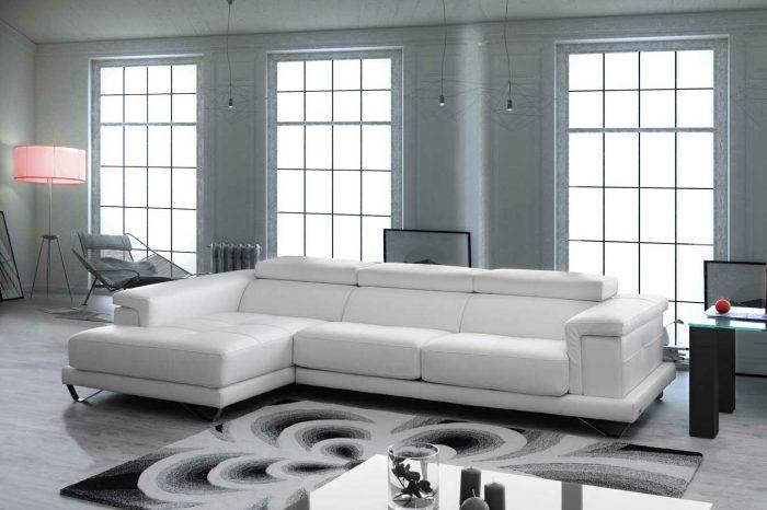 Sofá de piel - Modelo Galán