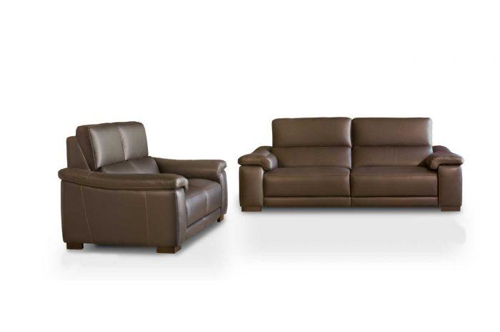 Sofás de piel - Modelo Heston